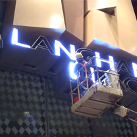 Langham Place 8F Sign Box