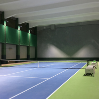 The Clearwater Bay Golf & Country Club Tennis Court